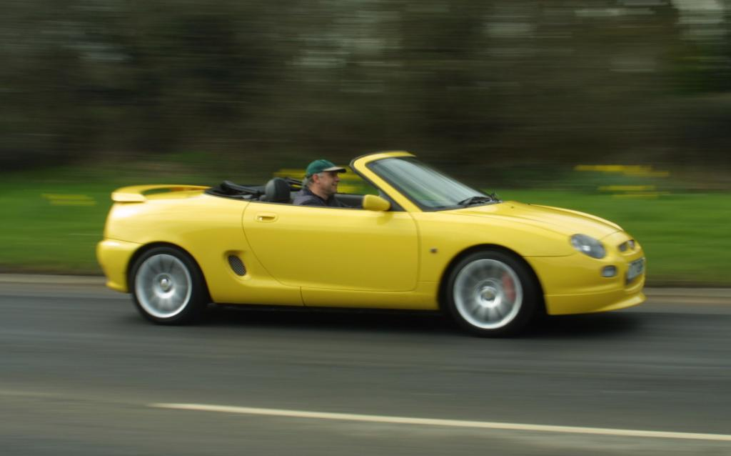 MGF Trophy at speed