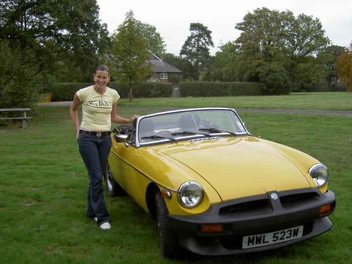 I always wanted a yank car or a british classic. I now have both with this USA spec MGB O series experimental MGB. I use it every day and I Love it.