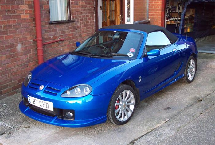 My 2003 TF160 with X Power front splitter fitted. Appearing in BBC Drama Waterloo rd Jan - March 2007