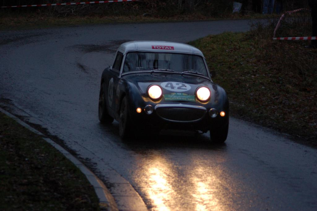 Austin Healey Sprite Frogeye driven by Stephane Henrard - RT Creppe