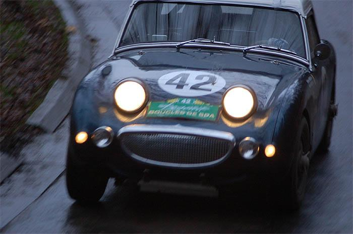 Austin Healey Frogeye driven by Stephane Henrard (2)- RT Creppe
