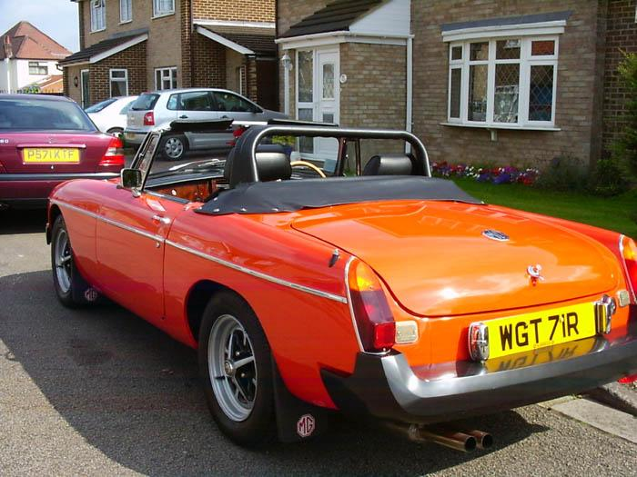 My MGB restoration nearing completion, at last!