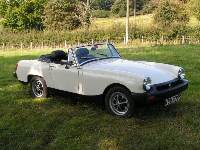 Following my purchase in 1995, 12 years and 155 days later of work, rest, and play, I finally get to drive my MG Midget.