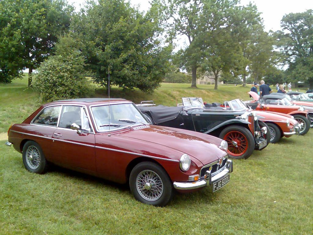 My GT at Bodiam Castle 2006
