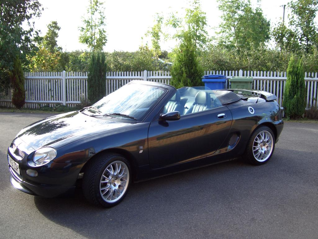 Sunny day and enjoying my MGF