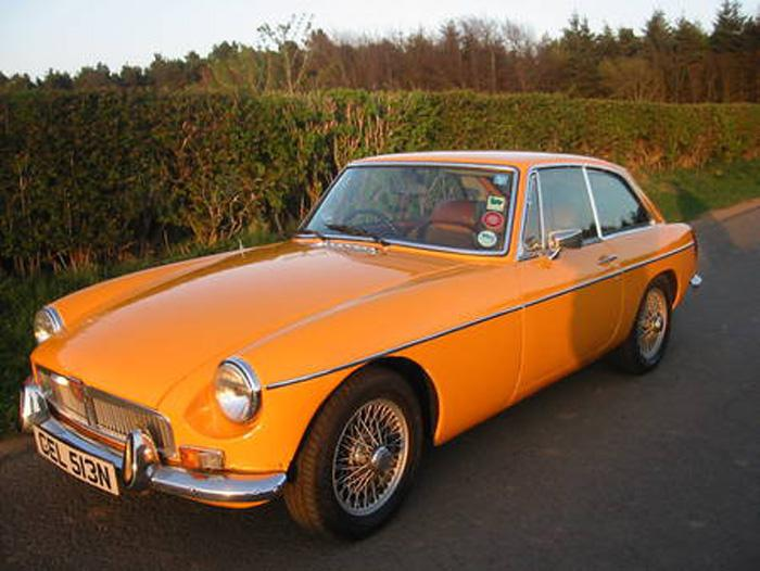 Picture of my MGB GT :-)