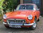 My first MGB GT before starting work on her ready for summer 2008,anybody with any history for this MG,please let me know.