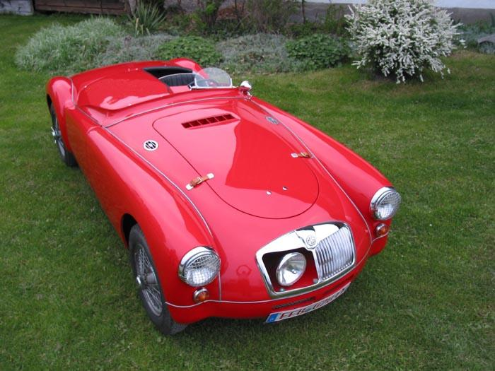 MG A special 1955