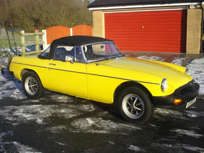 This is as we bought the MG, one owner, took this for the agreed valuation.