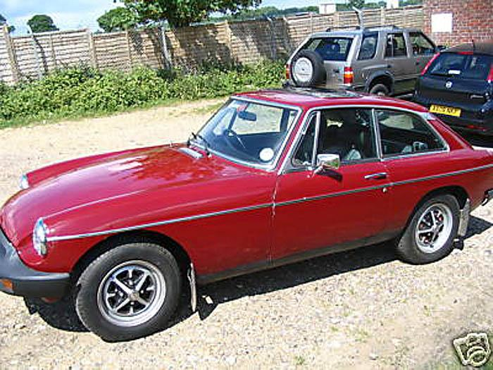 This is my new (old) MGB GT..an on the road prodject with an open ended completion date