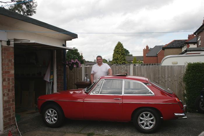 The MGB GT I have rebuilt over the last few years, Almost ready for MOT. BUT Will I fit?
