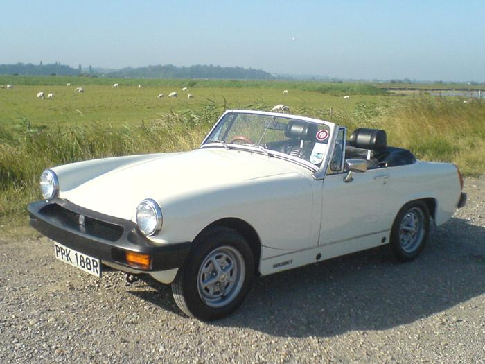 This is my 1977 MG Midget